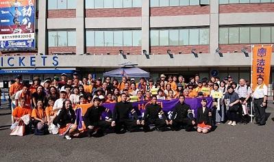 六大学野球応援&市ケ谷キャンパスツアー