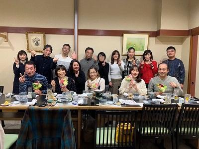 2018年度 岡山県支部 第6回役員会・送別会 議事録