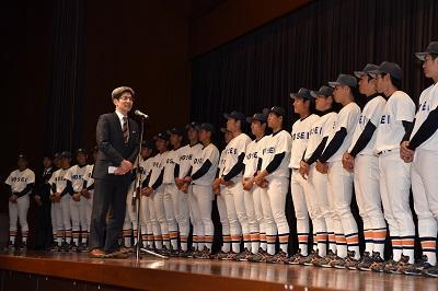 東京六大学野球秋季リーグ 優勝パレード・祝勝会 報告