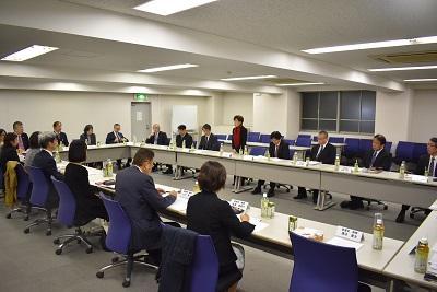 総長・学内理事と後援会運営委員との懇談会 報告